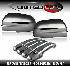 04-11 Chevy Aveo Sedan Chrome Mirror Cover Chrome 4 Door Handle Cover