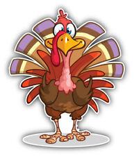 Funny Crazy Turkey Animal Car Bumper Sticker Decal Sizes