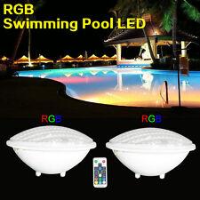 18W LED Swimming pool lights PAR56 bulb 12V AC/DC RGB Remoter control IP68