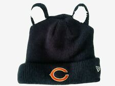 Chicago Bears NFL New Era Toddler blue knit lined beanie hat with ears