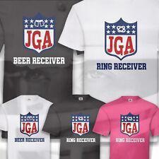 T-Shirt JGA American Football Hangover Junggesellenabschied Herren Groom S-5XL