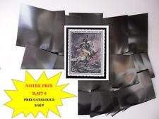 PROMO POCHETTES HAWID fond noir par 50 - 41 x 53 - simple soudure MATERIEL NEUF