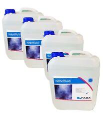 Smoke Fluid 4x5l Kanister Nebelfluid Nebelflüssigkeit für Laser- und Lichtshow