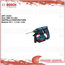 BOSCH-B MARTELLO PERFORATORE GBH36V-EC  36V 1.3AH LITIO CON 2 BATT. ART. 94245