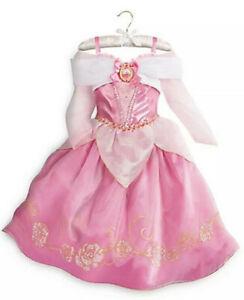 DISNEY STORE PRINCESS AURORA COSTUME SLEEPING BEAUTY - PINK, SZ 13 - GIRLS DRESS