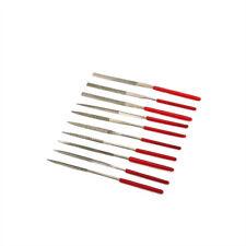10Pcs 100MM Diamond Coating Needle Flat File Mix Set Metal Working Craft Tool