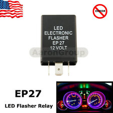 1PC EP27 EP 27 LED Flasher Relay Fix Hyper Flash Turn Signal Decoder