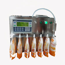 Semi-automatic Quantitative Liquid Soya-bean Milk Juice Filling machine 220V Y