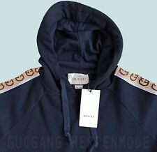 GUCCI Hoodie Navy Gucci Gang sale Men Shirt Size M