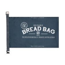 Onya Reusable Bread Bag Baguette Rolls/Loaf Storage Charcoal