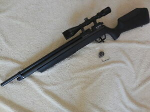 Nice Benjamin Marauder PCP .22 Caliber Rifle w/Scope Adjustable Synthetic stock