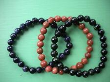 sandstone power bracelets set of three 8 mm