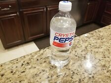 Extremely Rare Crystal Pepsi December 10, 2018 exp. Date