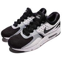 Nike Air Max Zero Essential Black White Men Running Shoes Sneakers 876070-101