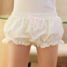 Women Girl Lolita Ruffle Bloomers Japanese Underwear Shorts Cosplay Knickers