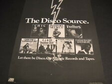Disco 1978 Promo Poster Ad Chic Cerrone Trammps Passport C.J. & Co. others Mint