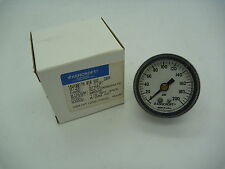 "Ashcroft 1 1/2"" Pressure Gauge, 15W1001TH, 200 psi, 1/8"" NPT, Panel Mount"
