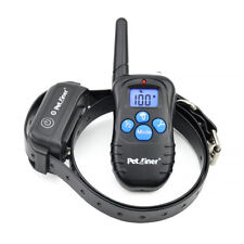Petrainer Rechargeable Dog Shock with Remote Waterproof Pet Dog Training Collar
