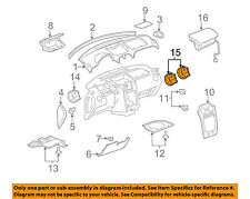 Chevrolet GM OEM Dash Air Vent-AC A/C Heater Duct Outlet Louvre Left 20933882