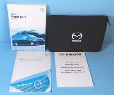 06 2006 Mazda MPV owners manual