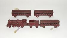 Kilgore Cast Iron Passenger Train Set NO RESERVE (DAKOTApaul)