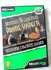 39738 - Mystery Case Files Prime Suspects [NEW & SEALED] - PC (2011) Windows