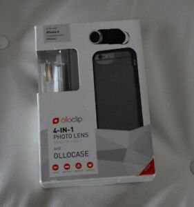 OLLOCLIP - 4-in-1 PHOTOLENS for iPhone 6 & 7- Brand new