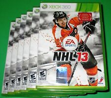 Lot of 6 NHL 13 Microsoft Xbox 360 *Factory Sealed! *Free Shipping!