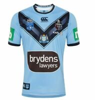 NSW Blues CCC 2020 State of Origin Pro Home Jersey Kids Sizes 6-16!