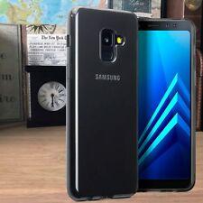 Samsung Galaxy A8 2018 Extrême Element Case Gel Fumée Noir Au Détail