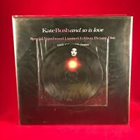 "KATE BUSH And So Is Love 1994 UK 7"" vinyl Picture Disc single + POSTER EXCELLENT"