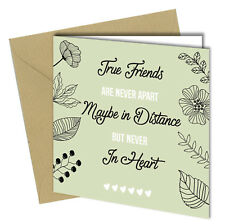 #722 BIRTHDAY OFFICE Greeting CARD Friend Leaving Work Colleague Friendship 6x6""