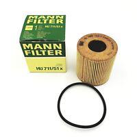 ORIGINAL Mann Filtro HU711/51x FILTRO DE ACEITE