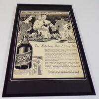 1937 Schlitz Beer Framed 11x17 ORIGINAL Vintage Advertising Poster