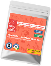 Food Supplies: Lightweight Dehydrated Pouch Meal - Vegetarian Rainbow Cous Cous