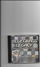 """BLUEGRASS LEGACY, CD """"TIMELESS TRADITIONAL FAVORITES"""" NEW SEALED"""