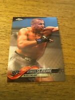 Georges St- Pierre  UFC 2018 Topps Chrome #90A