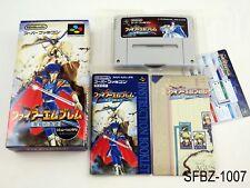 Complete Fire Emblem 4 Seisen no Keifu Super Famicom Japanese Import US Seller B