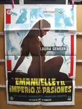 3278       EMANUELLE Y EL IMPERIO DE LAS PASIONES JOE D'AMATO LAURA GEMSER