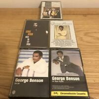George Benson Music Cassette Tapes Bundle Of 5