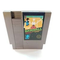 Baseball NES (Nintendo Entertainment System) 5-Screw Blk. Label Game Cart Tested