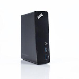 Lenovo ThinkPad USB 3.0 2x DVI Dock Port Replicator Only DU9019D1 03X6059 -NO AC