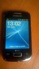 Samsung Galaxy Y Duos Black GT-S6102 - Dual Sim Mobile Phone