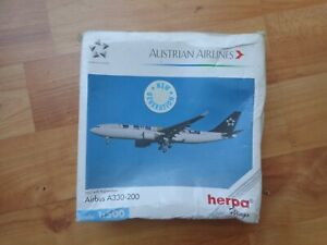 508384 HERPA WINGS 1:500 AUSTRIAN AIRLINES AIRBUS A330-200 DIECAST PLANE