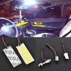 2PCS HID 36 COB LED Dome Map Bulb Light Car Interior Panel Lamp Xenon White 12V