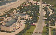 (W)  Marineland, FL - Bird's Eye View of Marine Studios and Highway