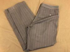 Women's Rafaella Brown Striped Dress Pants Size 12