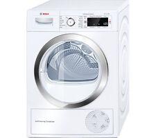 Bosch WTW87560GB Serie 8 9kg Heat Pump Condenser Tumble Dryer White