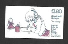FU5b £1.80 Girl Drawing Jolly Postman Cyl B2 Ref 17665