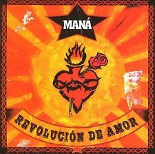 Revolución de Amor by Maná CD, Aug-2002, WEA Latina 48566-2 NEW Santana, Blades